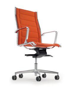 UF 545 / A, Sillón de director Blanca ideales blanco oficina moderna