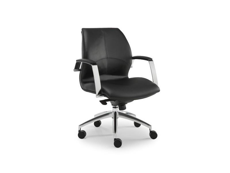 Wave executive 1502, Silla de oficina ejecutiva, cubierto de cuero