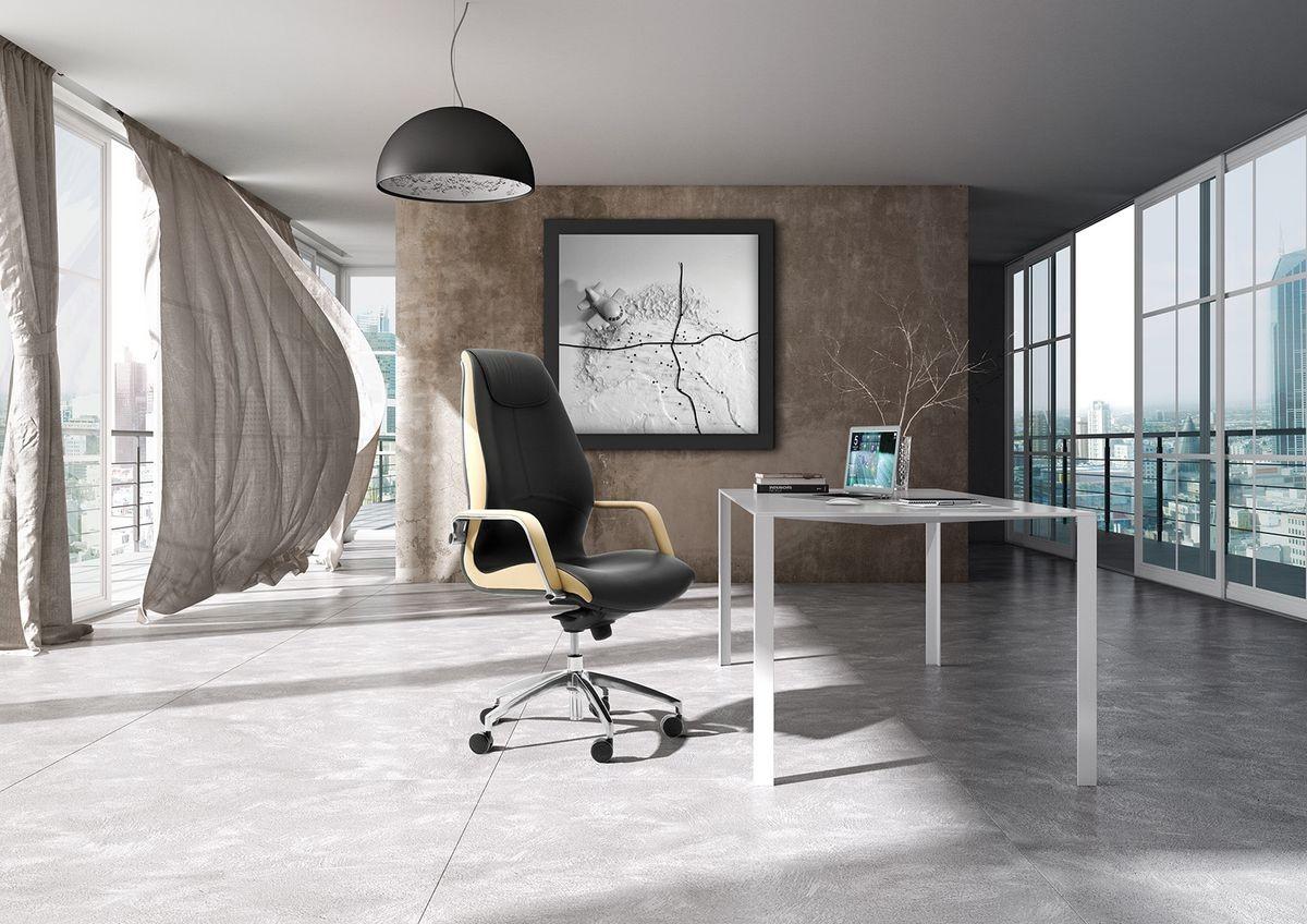 Wave tall executive 1505, Sillón de oficina con respaldo alto tapizado