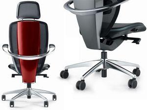XTEN, Silla de oficina ergonómico, diseñado por Pininfarina, alta tecnología