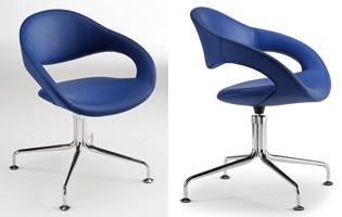 Samba self-aligning 51500, Autoalineable silla giratoria, estilo moderno