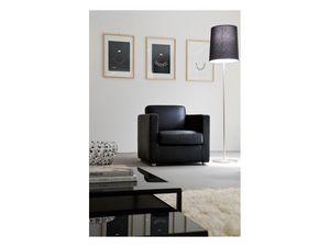 Giorgy, Mullido sillón cubierto de tela extraíble