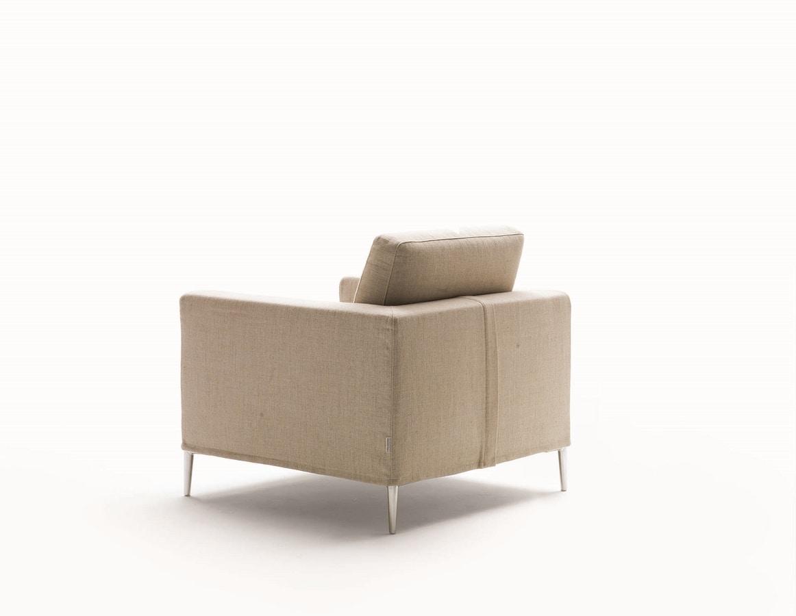 Grace, Butaca con lineas minimalistas
