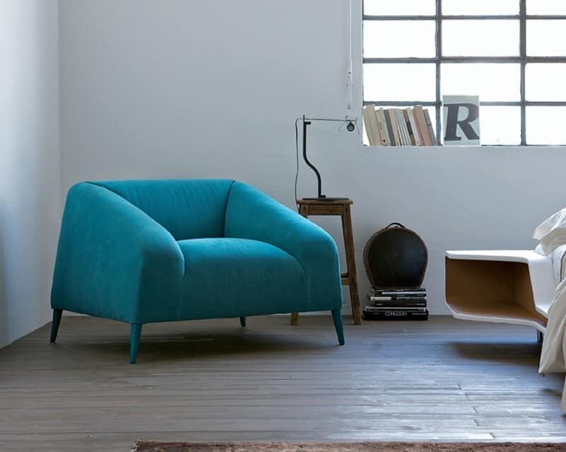 Comodos Sillones Cubierta De Tela Colores Modernos Idfdesign - Sillones-comodos-y-modernos