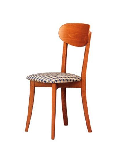 250, Cena de la silla con asiento tapizado para el comedor