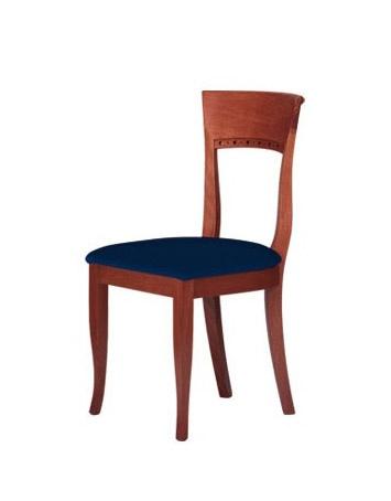 C17, Simple silla de madera maciza, para entornos de contrato