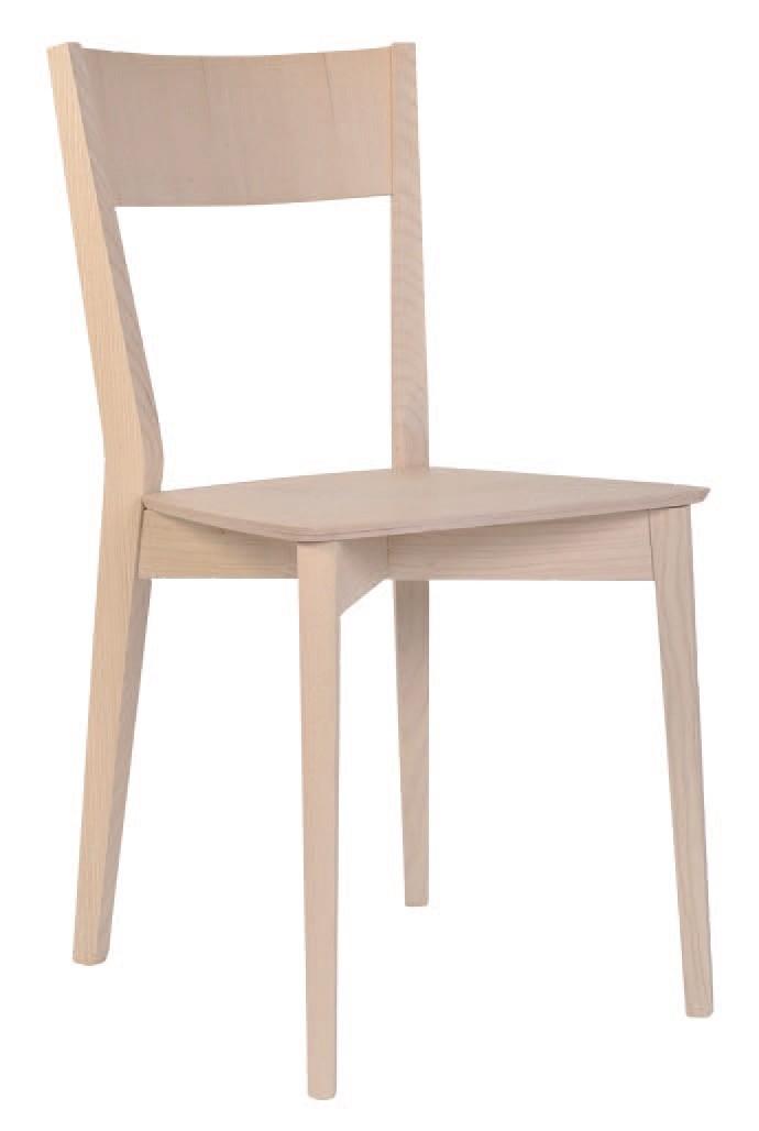 SE 460, Silla hecha enteramente de madera, para restaurantes y hoteles