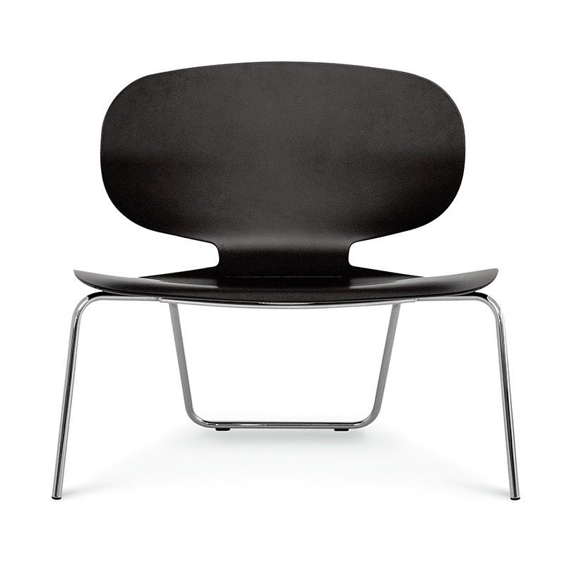 Alis XXL VS, Silla con asiento ancho en madera contrachapada, para sala de espera
