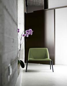 Plate 70, Silla con asiento grande, para hogares o salas de espera