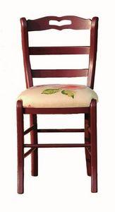 Valérie BR.0202.T, Sillas con tela o cuero del asiento