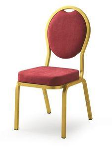 Como 65/4, Silla para salas de banquetes, conferencias y reuniones en hoteles