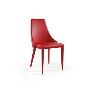 Evelin, Silla moderna con asiento acolchado