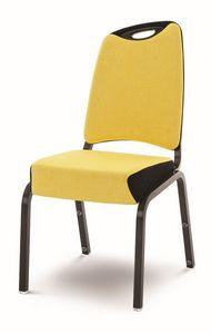 Inicio 09/2H, Llightweight silla, a prueba de fuego, con la manija, apilable