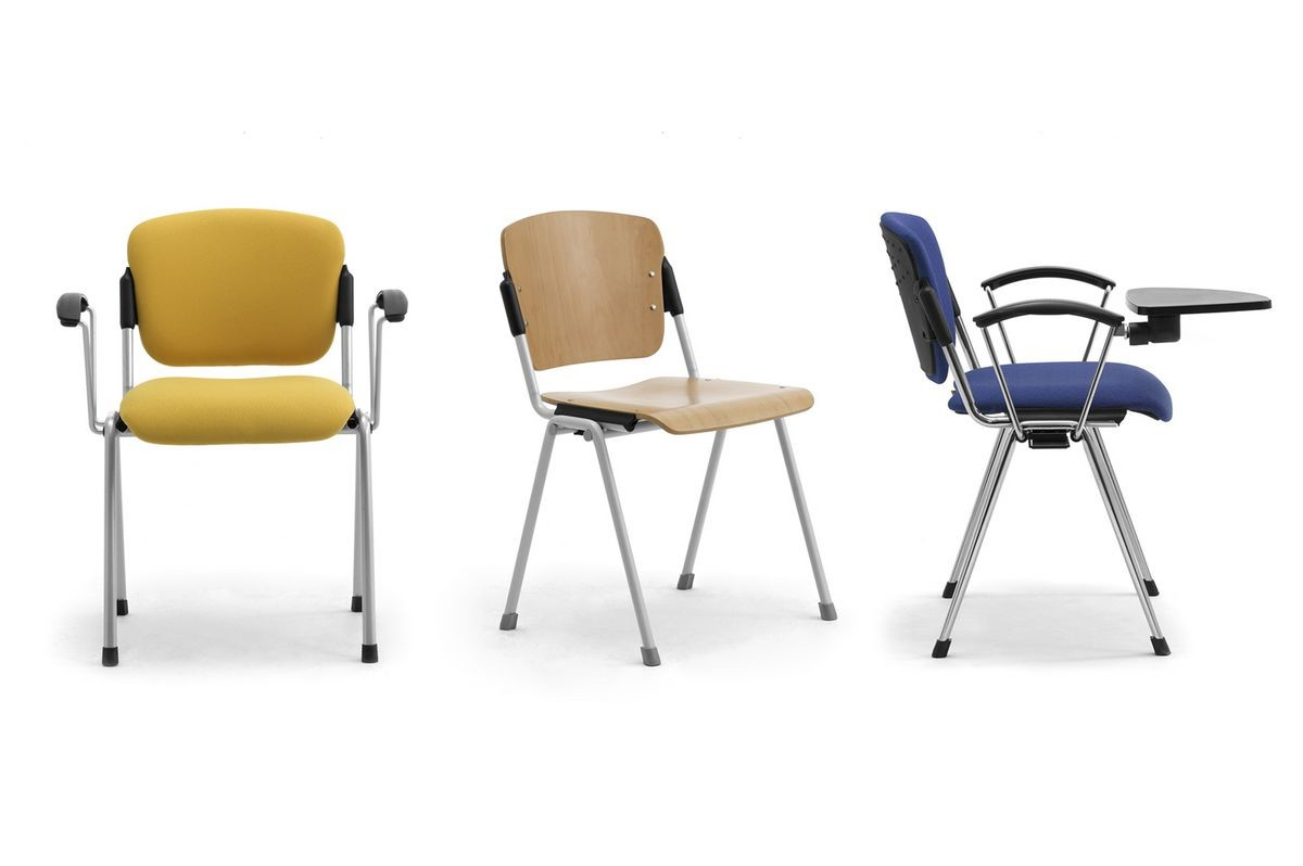 Cortina 6600W, Silla con la tablilla para salas de conferencias