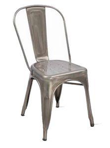 Twix, Silla apilable en metal galvanizado