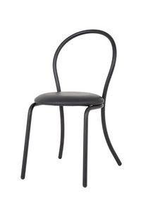 Art.Kris, Silla de metal curvado, tapizados de asiento redondo