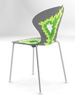 Big Bang, Sillas de metal con asiento de plástico, para sala de conferencias