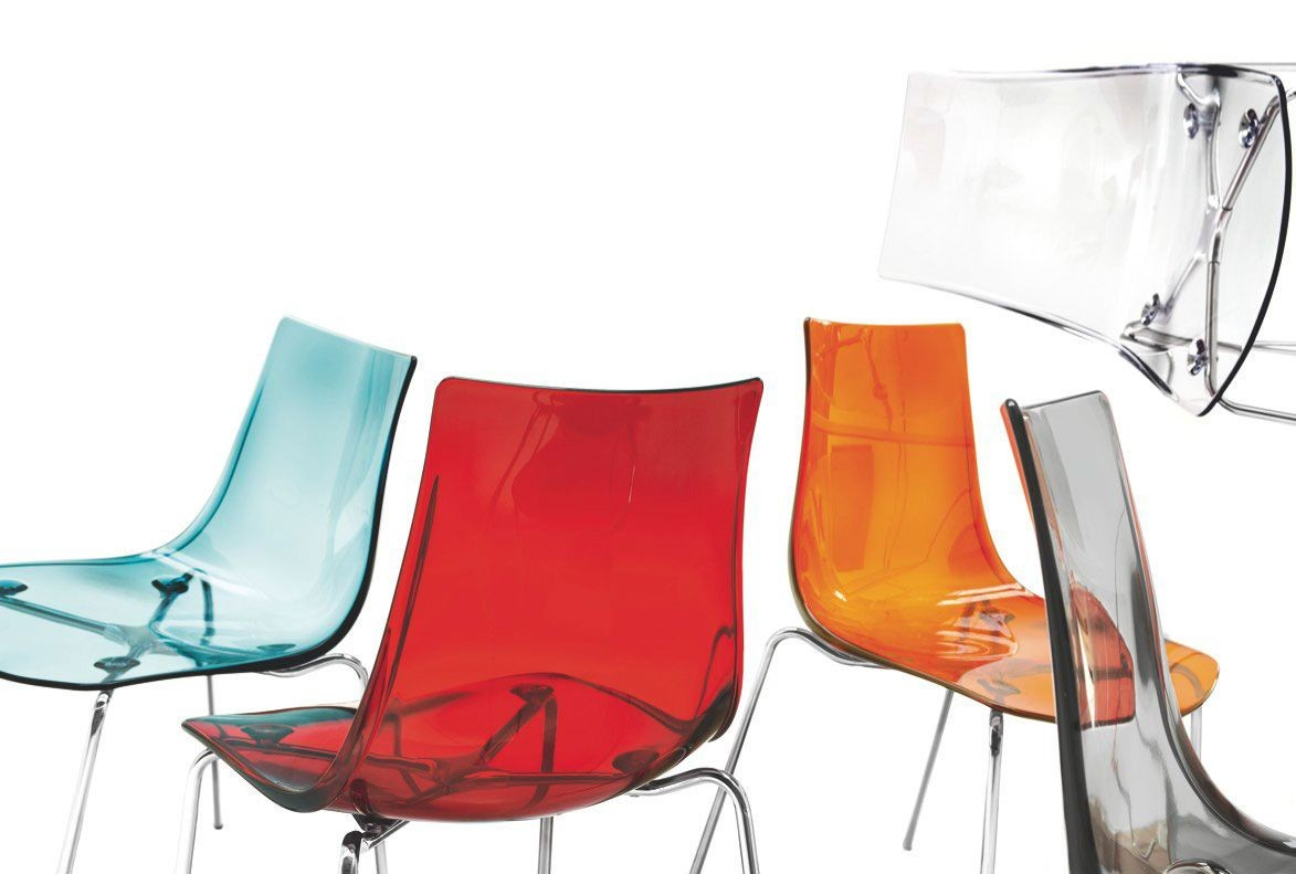 SE 2270, Silla con respaldo de plástico, varios colores, para el restaurante