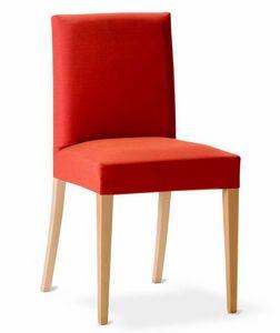 243 Relax, Silla de comedor con tapizado extraíble