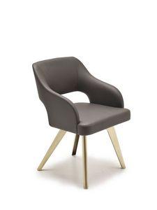 Adria, De estar moderna con el asiento, las piernas de hierro acolchados