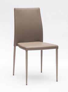 Art. 220 Naked, Cómoda silla acolchada, con costuras elegantes.