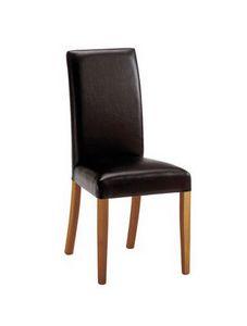 C03, Silla de madera moderna, acolchado, para salas de reuniones