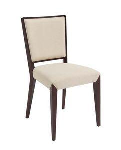 C37, Silla de madera, asiento acolchado y la espalda, por contrato y uso doméstico