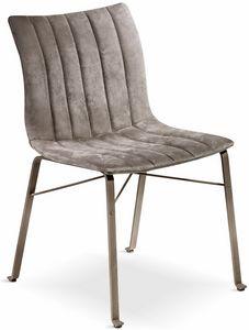 Ginevra Silla, Silla con asiento ergonómico