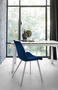 MALAGA SE195, Elegante silla acolchada