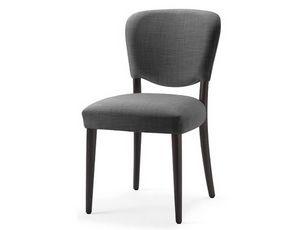 Mia-S, Silla con asiento y respaldo tapizados con espuma ignífuga