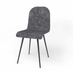 Sally, Silla tapizada, con asiento en diferentes variantes.