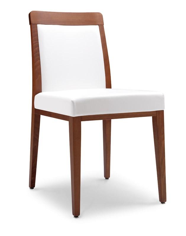 SE 49 / E, Silla moderna con asiento acolchado, para los restaurantes