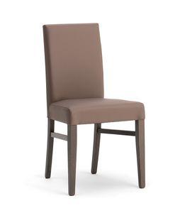 SLOT, Elegante silla acolchada para el comedor