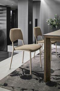 TORONTO SE196, Silla con respaldo y asiento tapizado