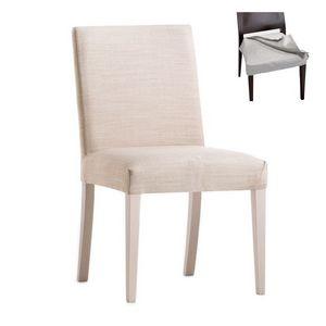 Zenith 01616, Silla con estructura de madera, asiento y respaldo tapizados, cubierta de tela extraíble, por contrato y uso doméstico
