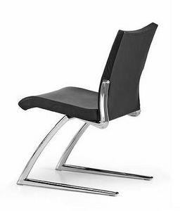 AVIA 4050, Silla de visita con asiento y respaldo tapizados, para la oficina