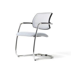 Social malla, Silla moderna, asiento de poliuretano, malla para