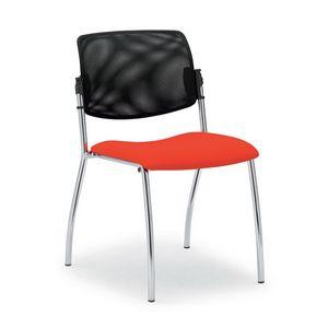 Laila 0588L, Silla con respaldo de malla, para salas de reuniones