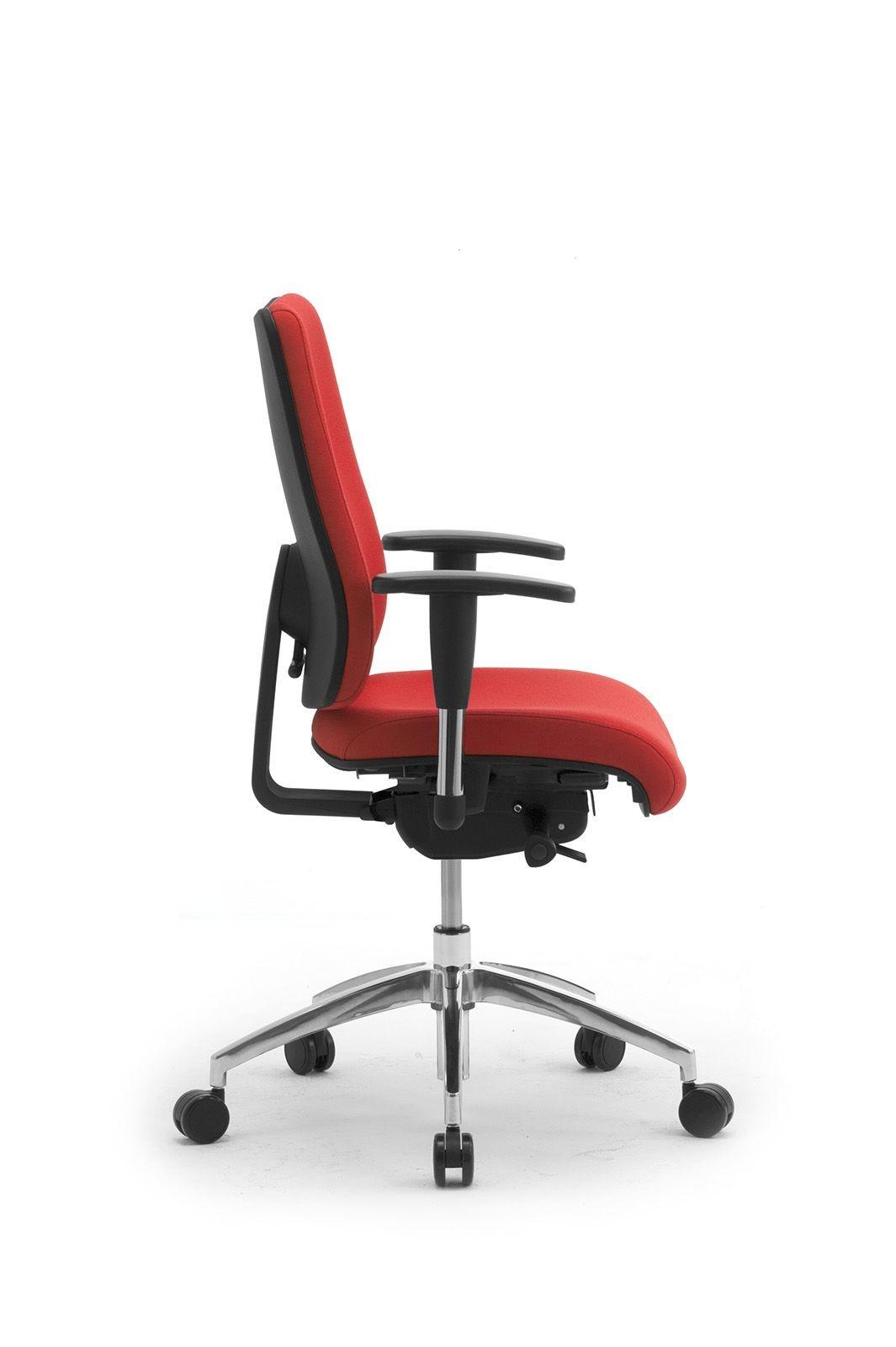 DD 2 task 53722, Silla de oficina operativa, asiento y respaldo tapizados