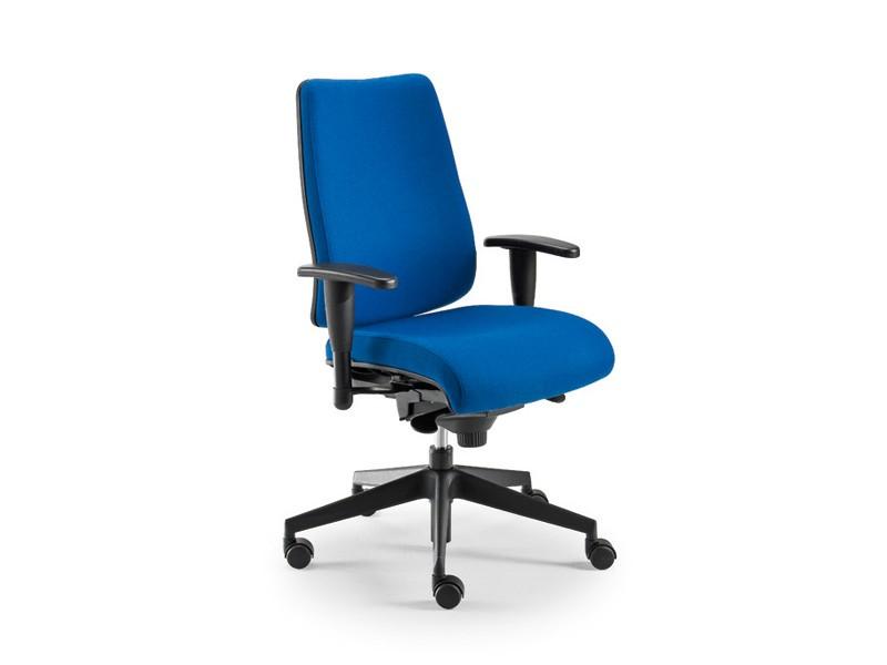 DD 2 task 53732, Silla de oficina con asiento acolchado y respaldo