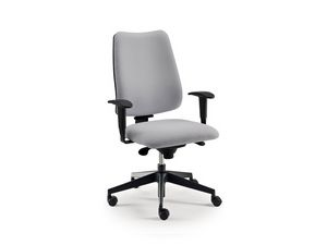 DD 4 task 53772, Silla de oficina operativa con ruedas y apoyabrazos