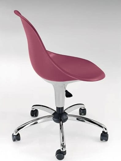 Harmony BC, Silla con ruedas, en varios colores, para la oficina