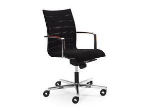 Sentrum 05/2A, Silla de oficina, regulable en altura y respaldo