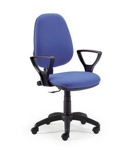 UF 316, Tarea silla con asiento ajustable, para la oficina