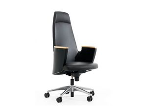 AMADEUS FIRST CLASS, Prestigiosa silla de oficina ejecutiva