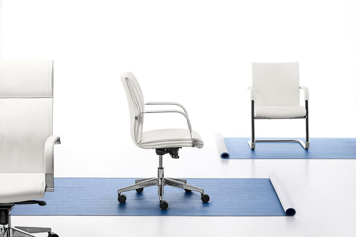 Berlin 01, Silla ejecutiva con respaldo alto para la oficina