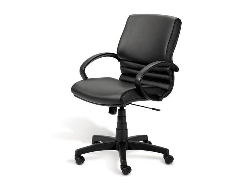 Digital 02, Silla ejecutiva, base de aluminio pulido, para la oficina