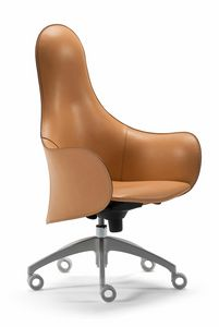 Hipod & Lopod sillón giratorio 10.0194, Sillón de oficina de cuero