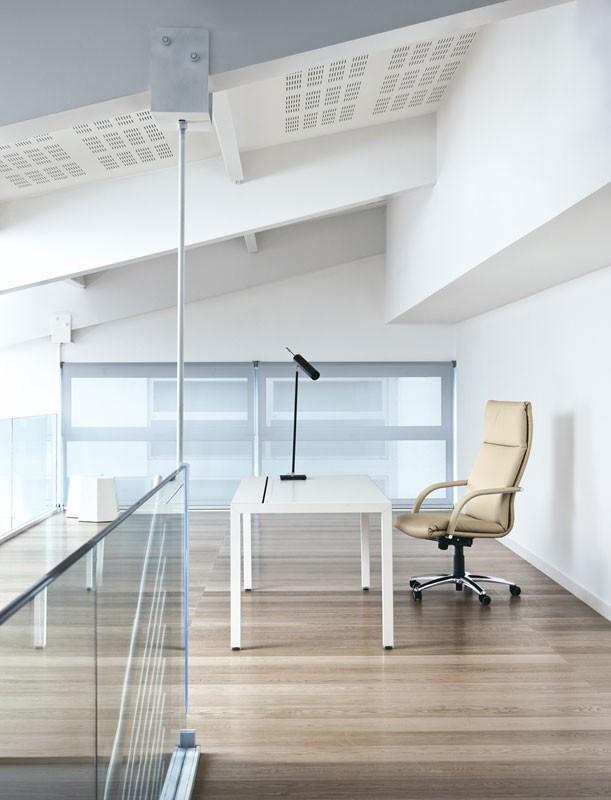 Klassic, Silla de oficina ejecutiva, regulable en altura
