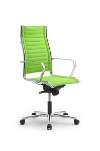 Origami TD high executive 70010, Silla giratoria con ruedas, regulable en altura, para oficinas